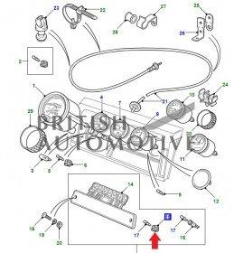 RTC3878- patice žárovky pro osvětlení kontrolek