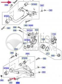 FC116216 (FC116217)- šroub do ramene