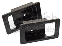 DA8953- černé hliníkové rámečky klik dveří