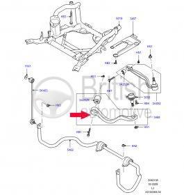 RBJ000120 (LR018343)- pravé přední rameno Range Rover L322