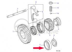606474- ložisko přídavné převodovky LT230 - Range Rover I Classic