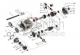 TAG000230KIT17- hlavní hřídel redukční převodovky