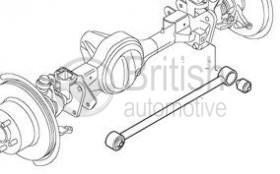 RBX101340- silentblok panhardské tyče