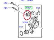RHF500100- vrchní otočný čep zadní těhlice Discovery 3