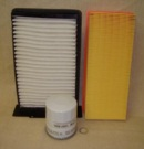 BK 0033- Filtry Freelander 1,8 Benzin od čísla VIN SALL... 1A000001