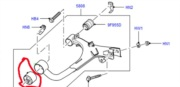 RGX500300 (RGX500131)- přední silentblok zadního vrchního ramene Discovery 3