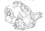 FTC4744E- redukční převodovka (pro manualní převodovku) Range Rover