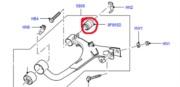 RGX500121 (LR051616)- zadní silentblok zadního vrchního ramene Discovery III